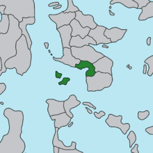 Location of Narikaton and Darnussia