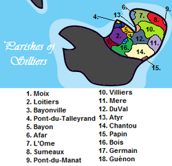 Parishes of Silliers