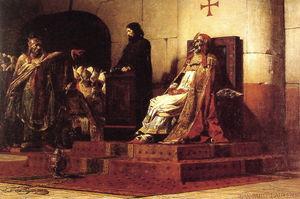 300px-Jean Paul Laurens Le Pape Formose et Etienne VII 1870