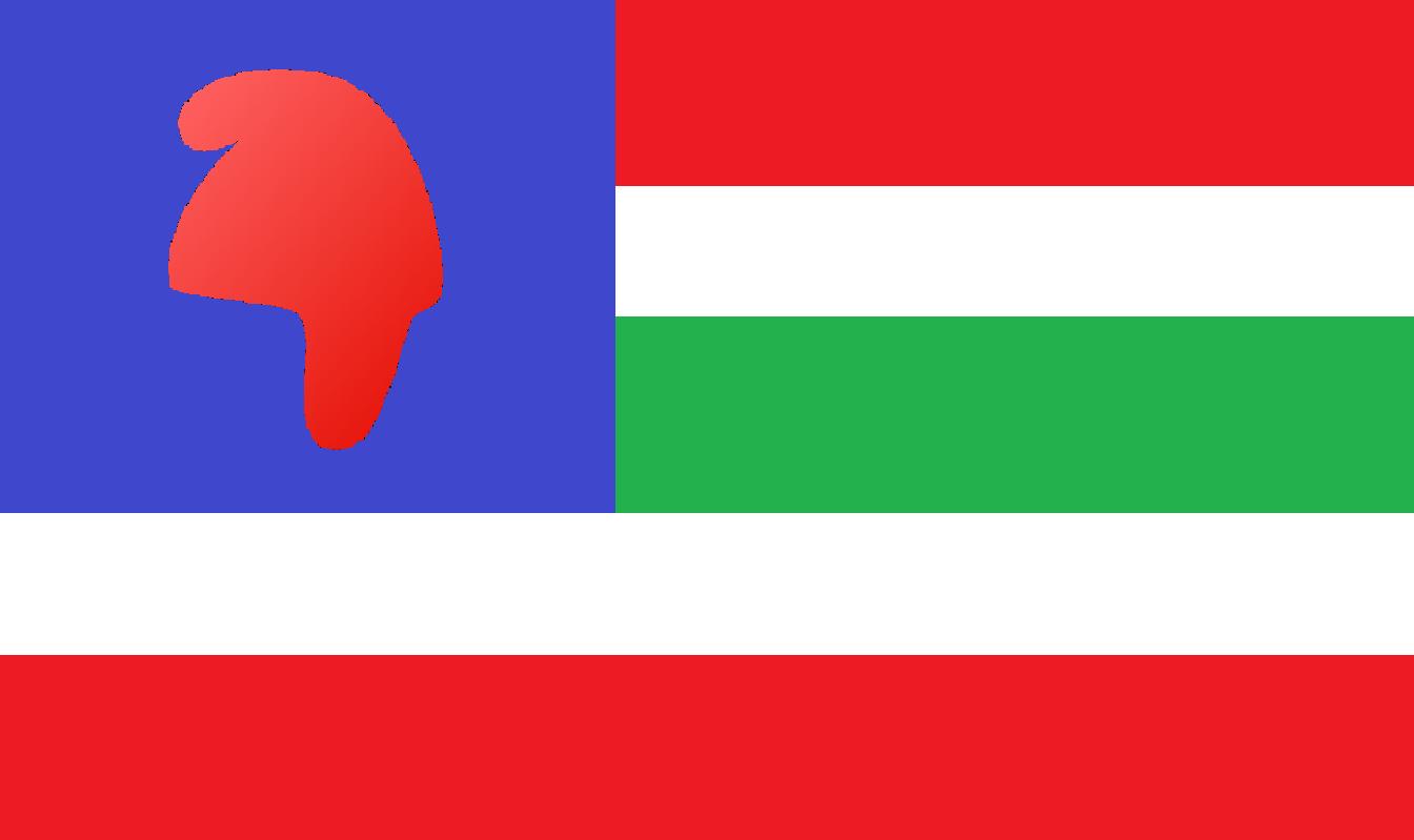 The Flag of the Ndrálon Köztársaság / Republic of Endralon (Endralon)