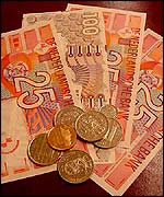 Saridan currency