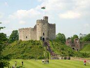 Y Cymoedd Castle