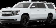 2019-Chevrolet-Suburban-white-full color-driver side front quarter