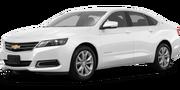 2019-Chevrolet-Impala-white-full color-driver side front quarter