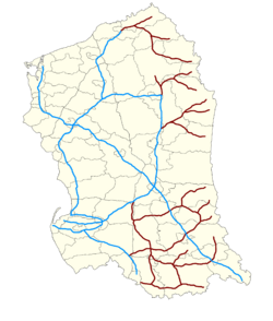 Valruzian Rail Network