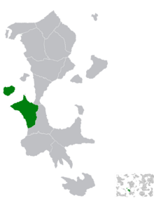 Location of Saridan Mas