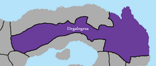 Degalogesa map
