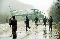 Dorvik helecopter PRA militants