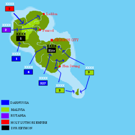 INVASION OF KEYMON