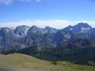 Lironese mountain range