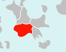 Location of Alduria