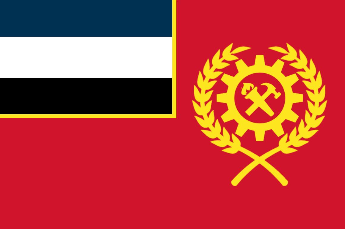 The Flag of the Revolutionäre Dorvik (Dorvik)
