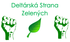 Deltárská Strana Zelených - Logo (Big size)
