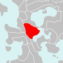 Location of New Verham