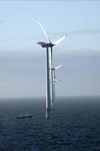 Windmill in Sovalt Channel