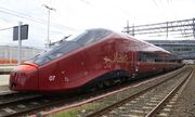 Istalian high speed train