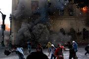 Egypt library burning