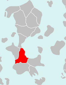 Location of Mordusia