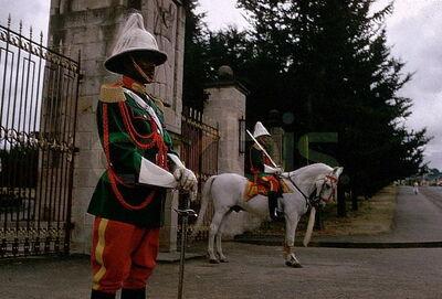 Coburan changing guard