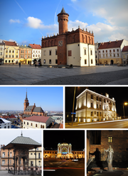 Collage of views of Tarnow