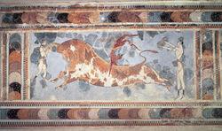 Kalopian bull fresco