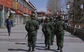 Soldiers Patrolling Gongmangdo