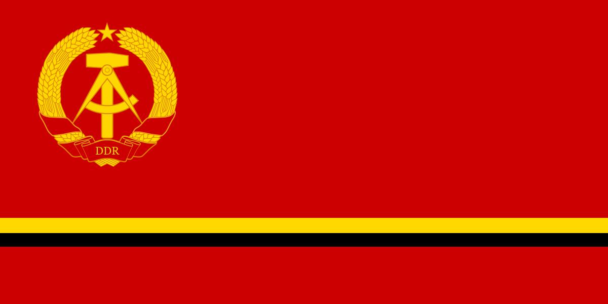 The Flag of the Dundorfische Demokratische Republik (DDR)