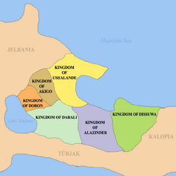 Great deltaria map