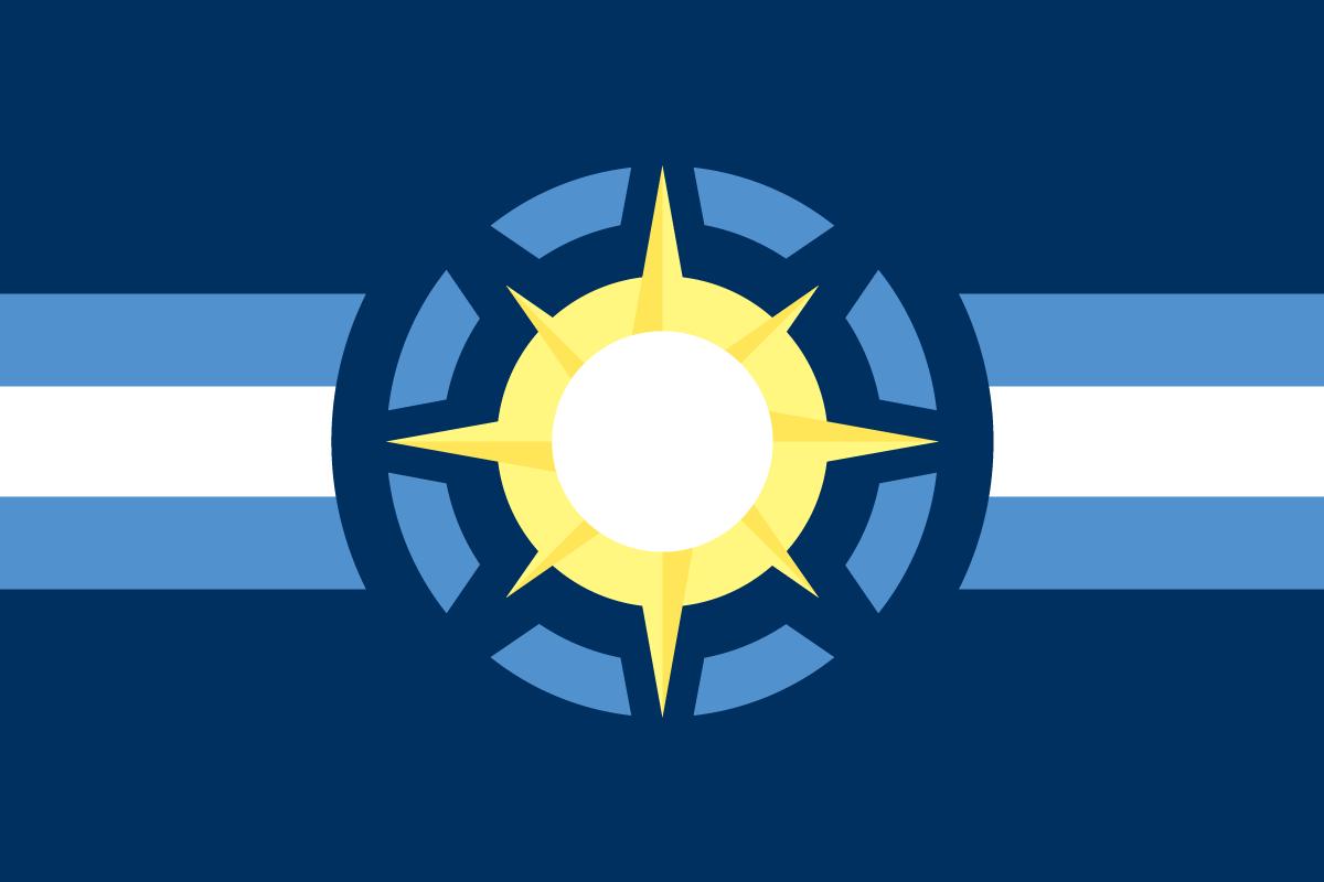 The Flag of the Federal Republic of Hutori (Hutori)