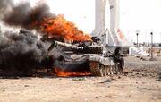 Burning Kafuri Tank (GMW)