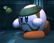 Solid Snake Kirby