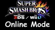 Super Smash Bros for Wii U 3DS - Online Mode