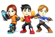 Mii FIGHTERS for SSB4