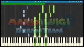 Mario and Luigi Dream Team - The Final Antasma Battle Piano Arrangement (Synthesia)