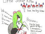 Little sister kirlia