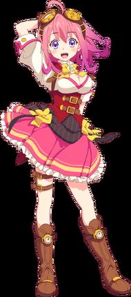 Izumi battle costume anime