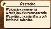 Opis Destrobo
