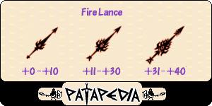 FireLance Level-up