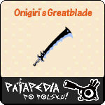 Wielka katana onigiri