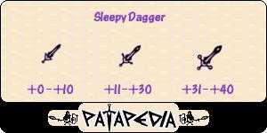 SleepyDagger Level-up