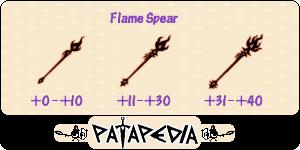 FlameSpear Level-up