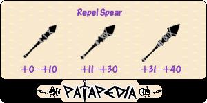 RepelSpear Level-up