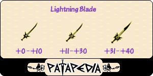 LightningBlade Level-up