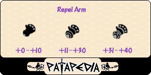 RepelArm Level-up