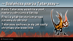 Wskazówka 6 Szaleńcza szarża Taterazay