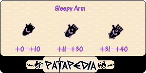 SleepyArm Level-up