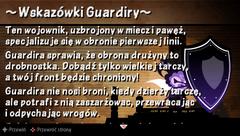 Wskazówka 44 Wskazówki Guardiry