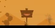 Szyld na pustyni