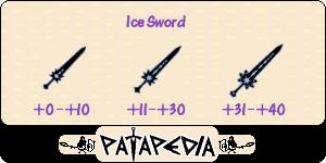 Lodowy miecz