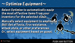 Optimize equips